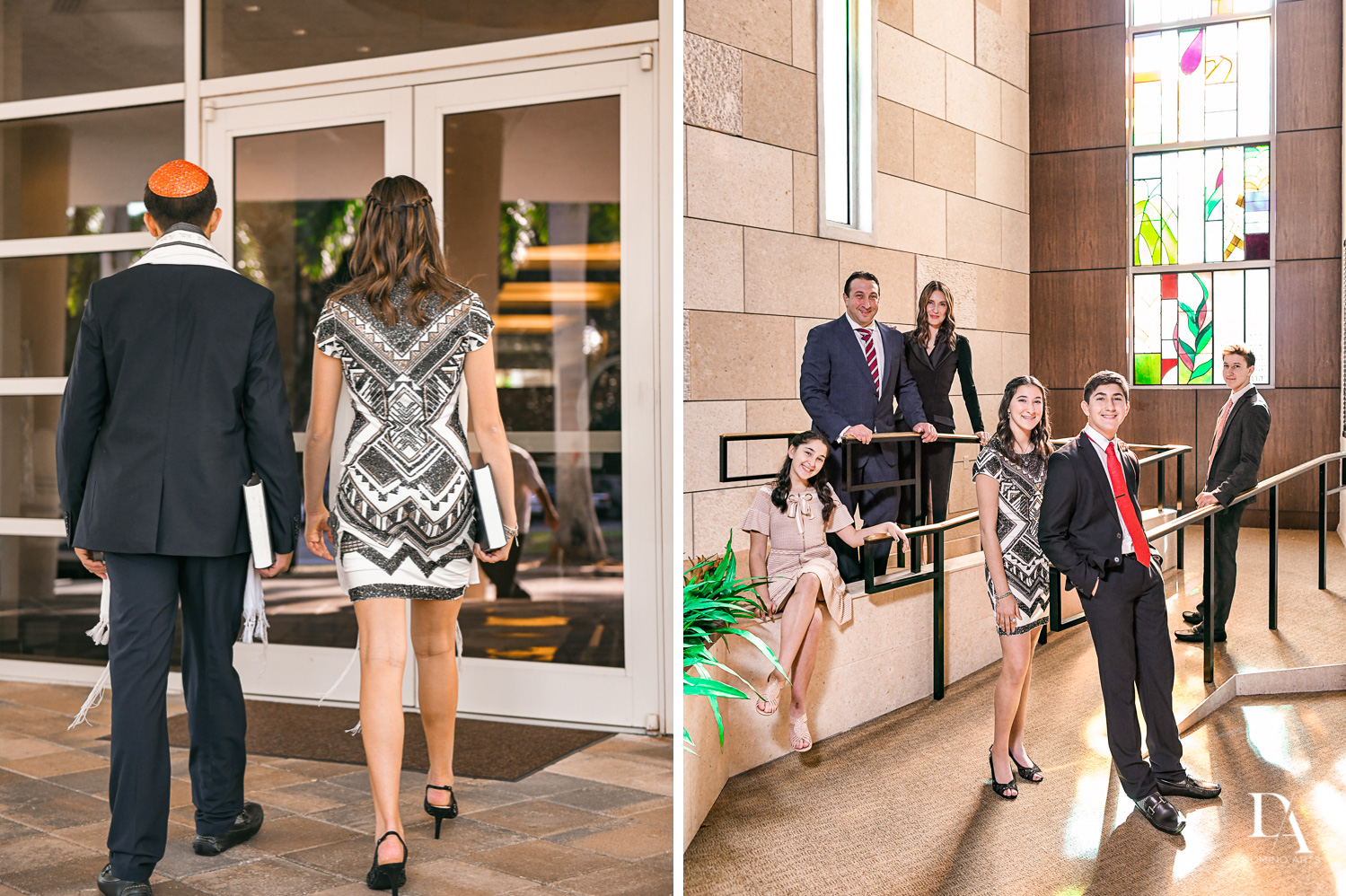 Traditional BNai Mitzvah Ceremony Miami by Domino Arts Photography