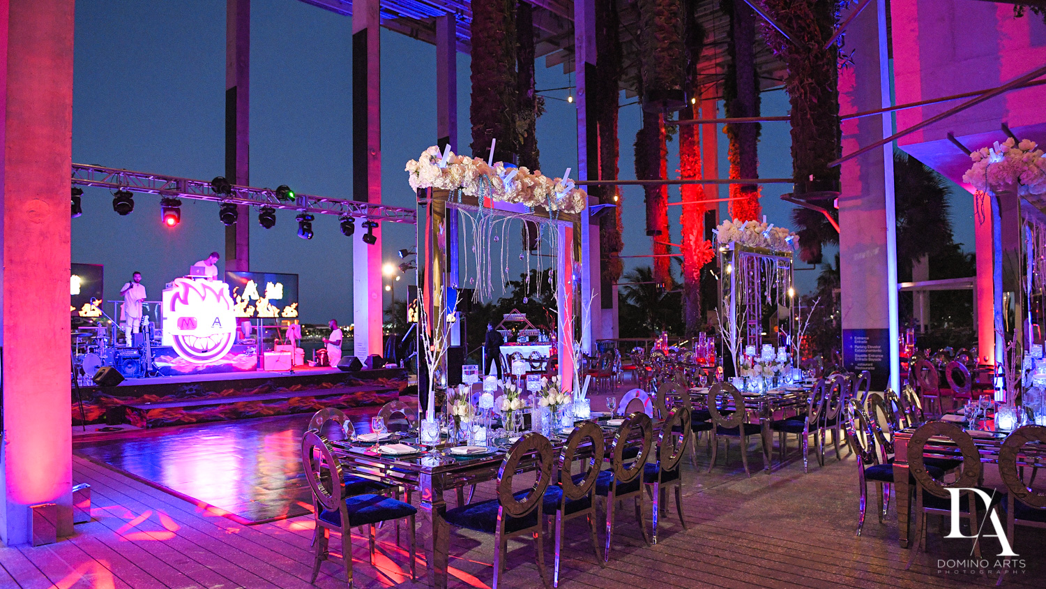 Fire & Ice B'Nai Mitzvah at Perez Art Museum Miami by Domino Arts Photography