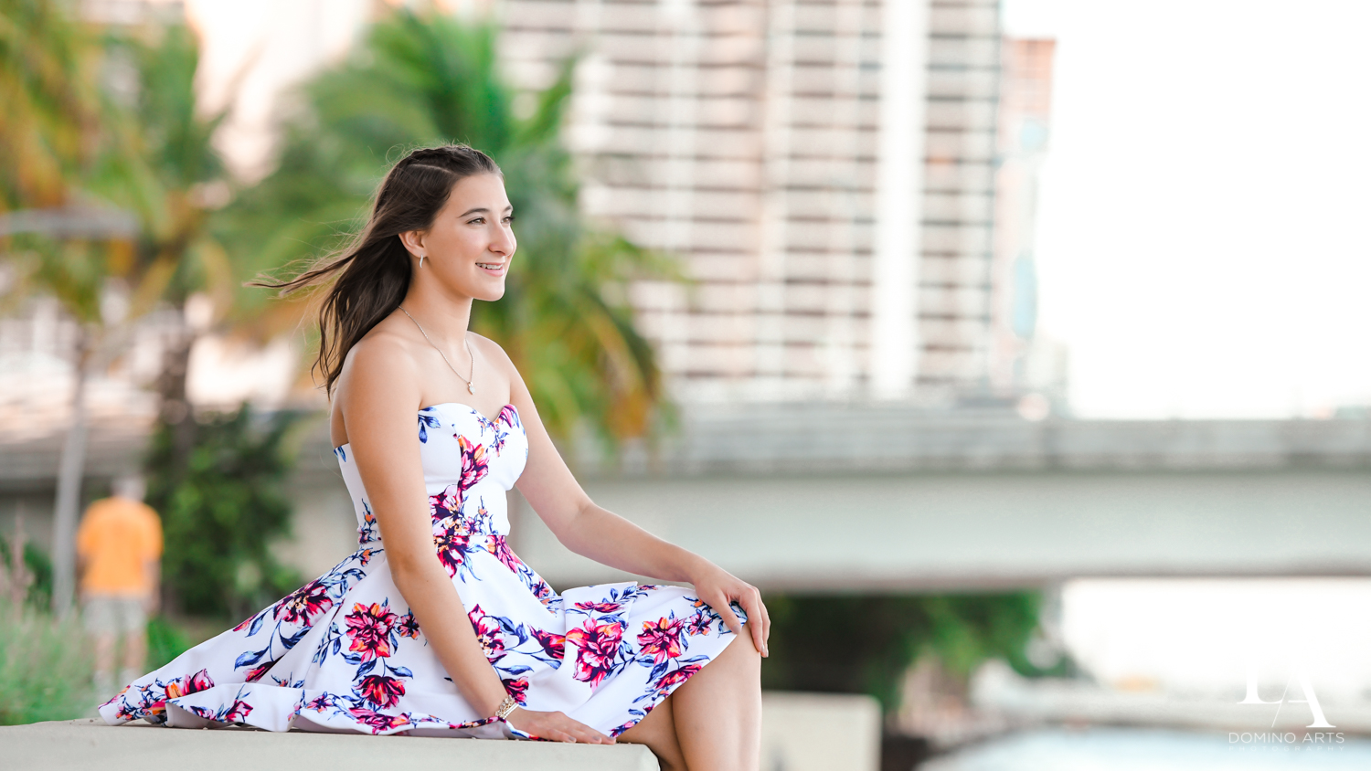 portraits at Fire & Ice B'Nai Mitzvah at Perez Art Museum Miami by Domino Arts Photography