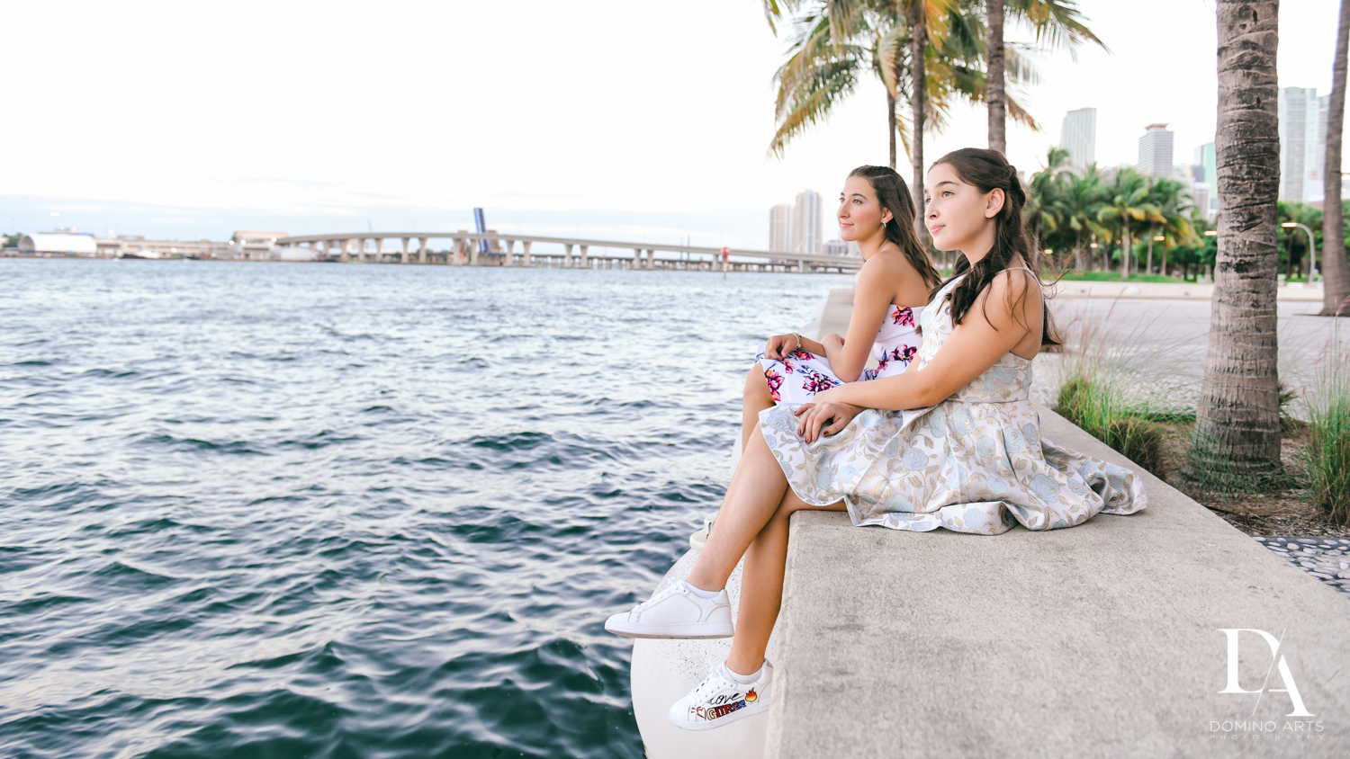 waterside at Fire & Ice B'Nai Mitzvah at Perez Art Museum Miami by Domino Arts Photography