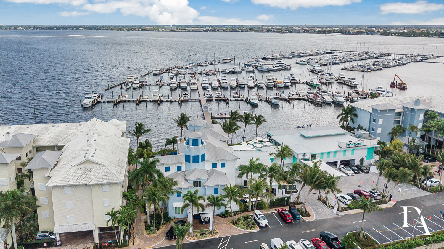 boats at Harborage Yacht Club & Marina by Domino Arts Photography
