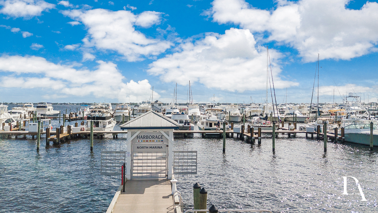 clean deck at Harborage Yacht Club & Marina by Domino Arts Photography