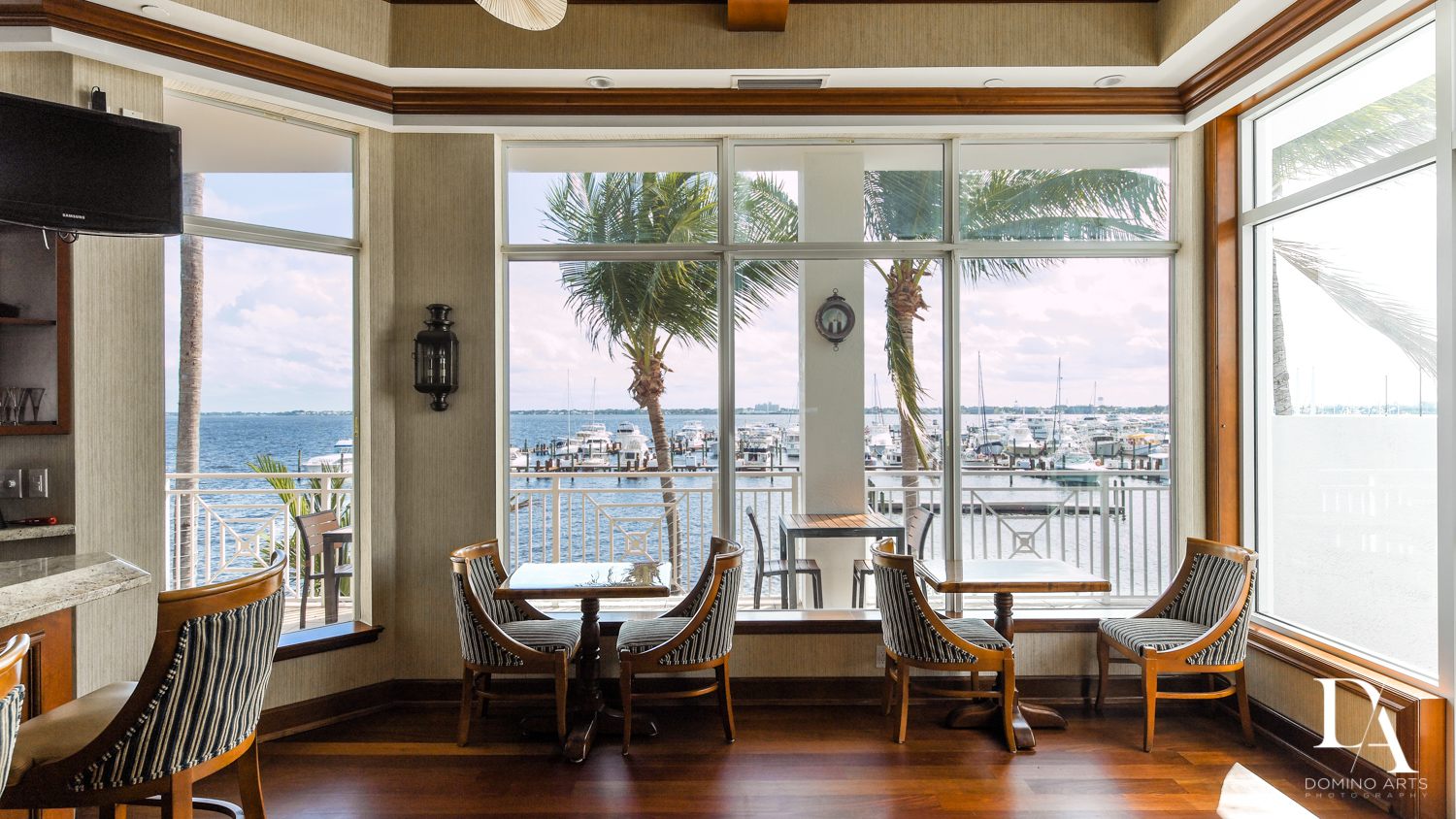 tranquility at Harborage Yacht Club & Marina by Domino Arts Photography
