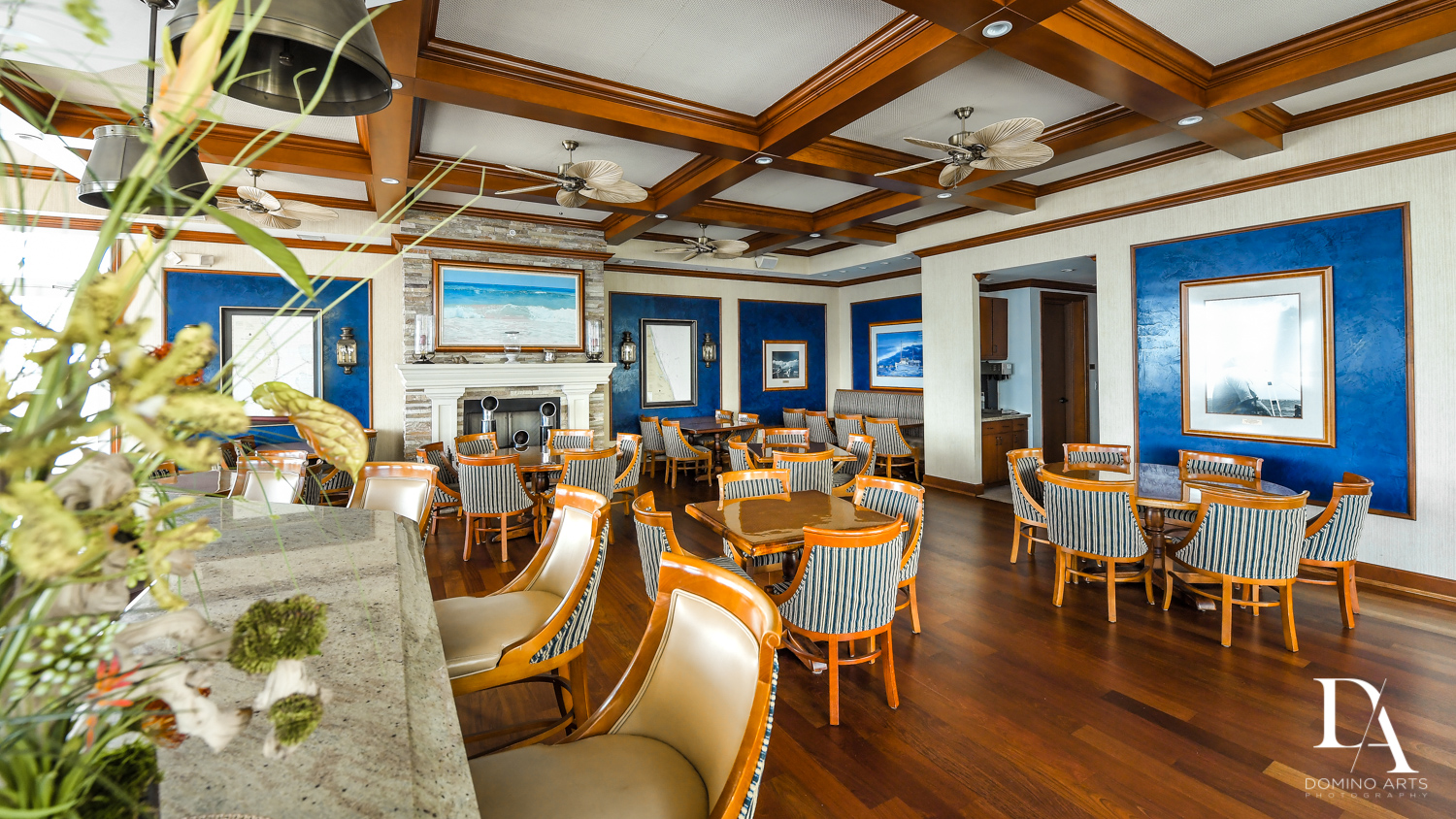 rustic decor at Harborage Yacht Club & Marina by Domino Arts Photography