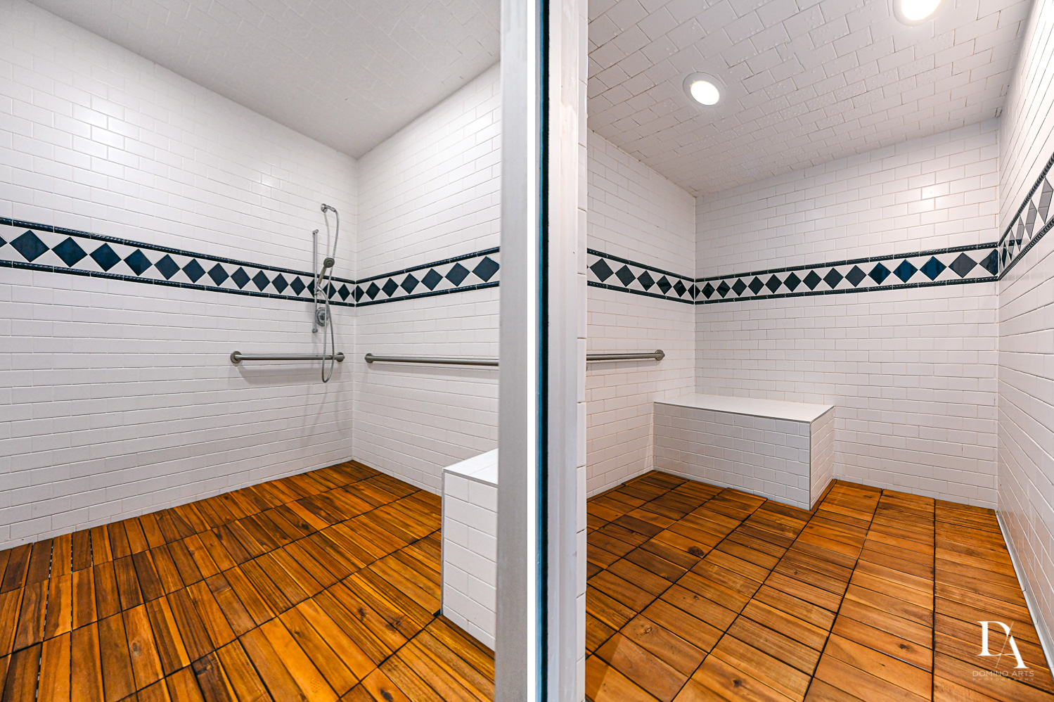 handicap showers at Harborage Yacht Club & Marina by Domino Arts Photography
