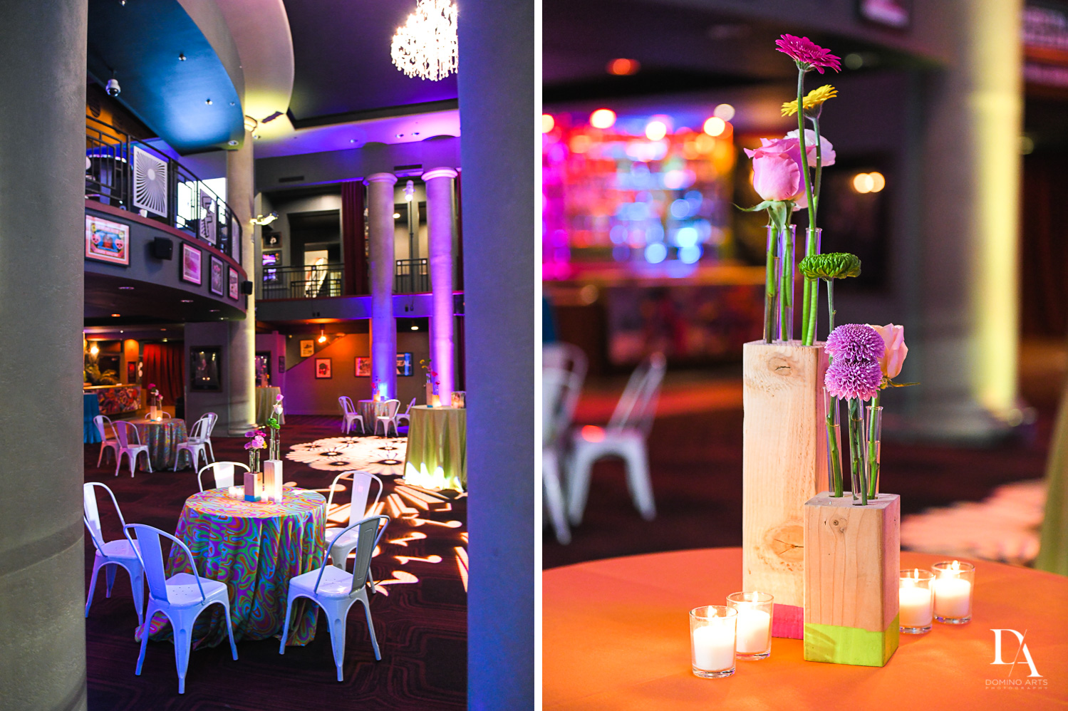 colorful details at Music Festival Bat Mitzvah at The Fillmore Miami Beach by Domino Arts Photography