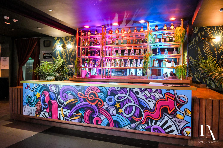 graffiti bar at Music Festival Bat Mitzvah at The Fillmore Miami Beach by Domino Arts Photography