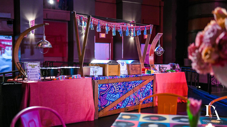 food carts at Music Festival Bat Mitzvah at The Fillmore Miami Beach by Domino Arts Photography