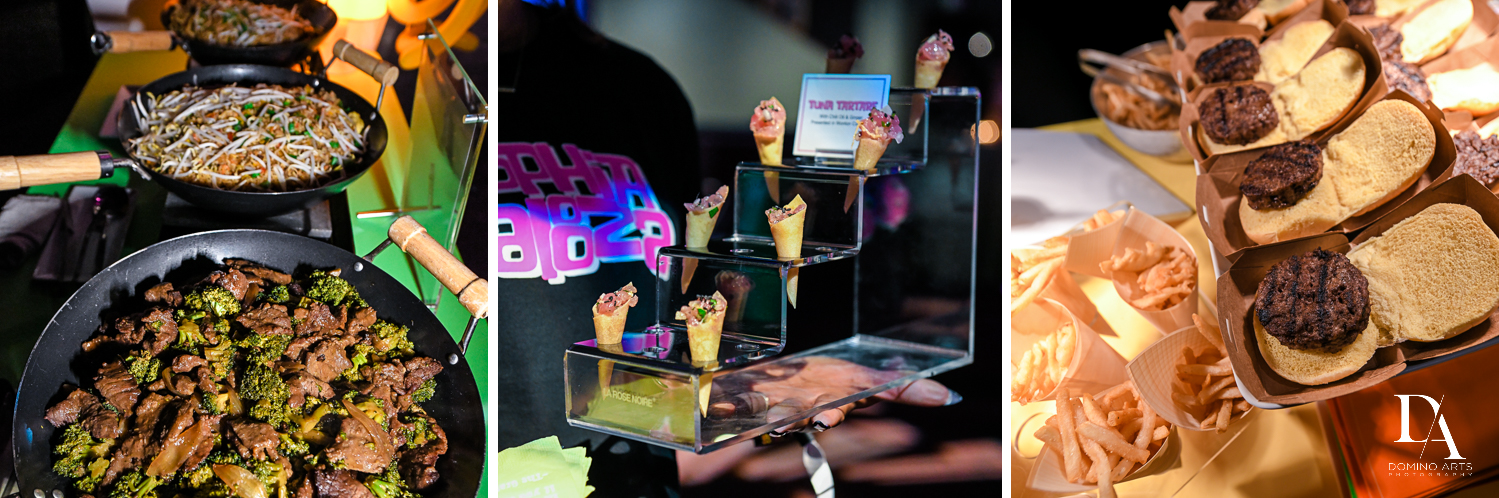best party catering atMusic Festival Bat Mitzvah at The Fillmore Miami Beach by Domino Arts Photography