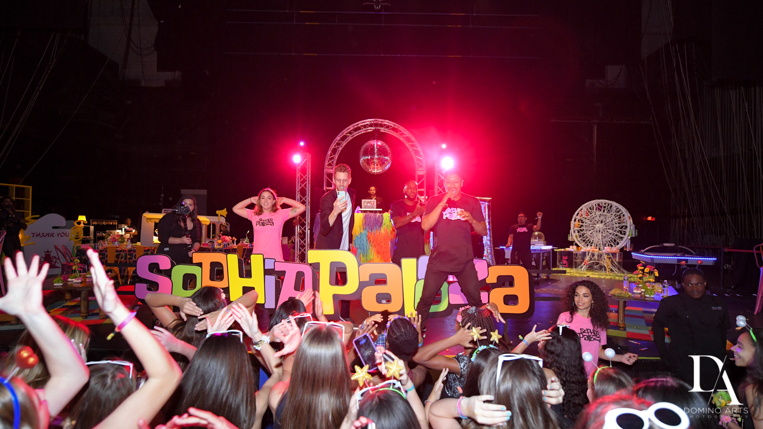 concert at Music Festival Bat Mitzvah at The Fillmore Miami Beach by Domino Arts Photography