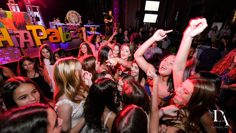 dancing at Music Festival Bat Mitzvah at The Fillmore Miami Beach by Domino Arts Photography