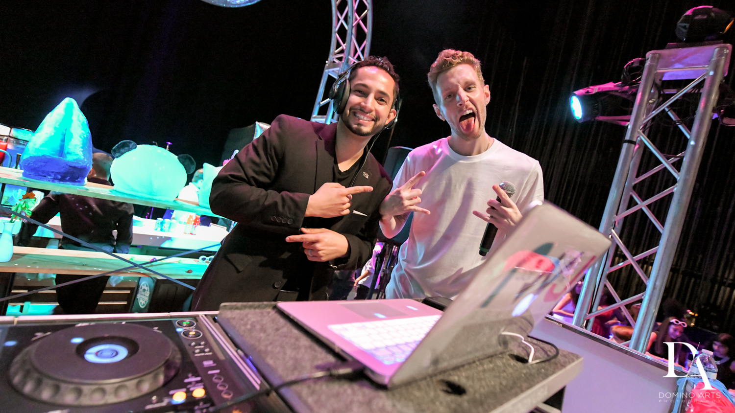 rock with u dj and mc at Music Festival Bat Mitzvah at The Fillmore Miami Beach by Domino Arts Photography
