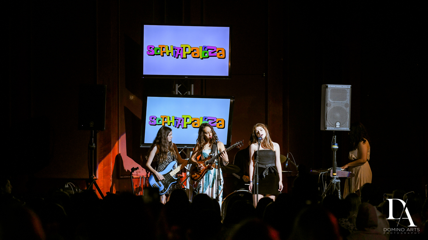 live performance at Music Festival Bat Mitzvah at The Fillmore Miami Beach by Domino Arts Photography
