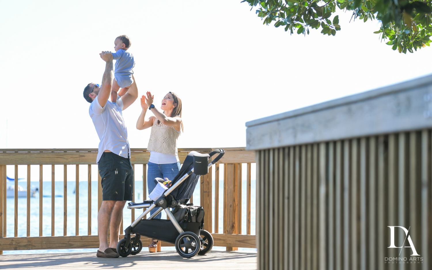 Urban baby Photo Session in Coral Gables by Domino Arts Photography