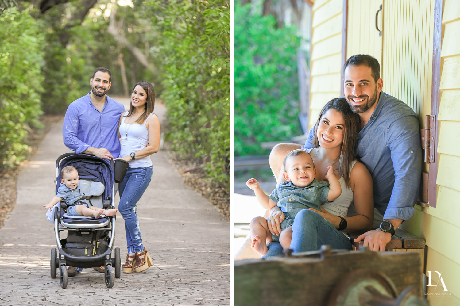 est portraits at Urban baby Photo Session in Coral Gables by Domino Arts Photography