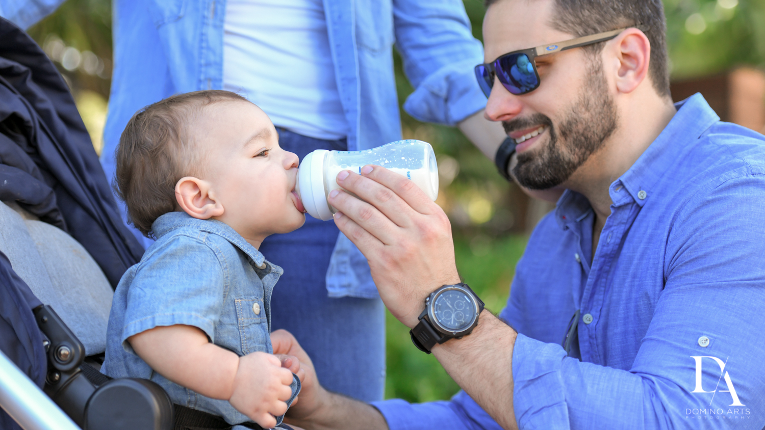 adorable baby pictures at Urban baby Photo Session in Coral Gables by Domino Arts Photography