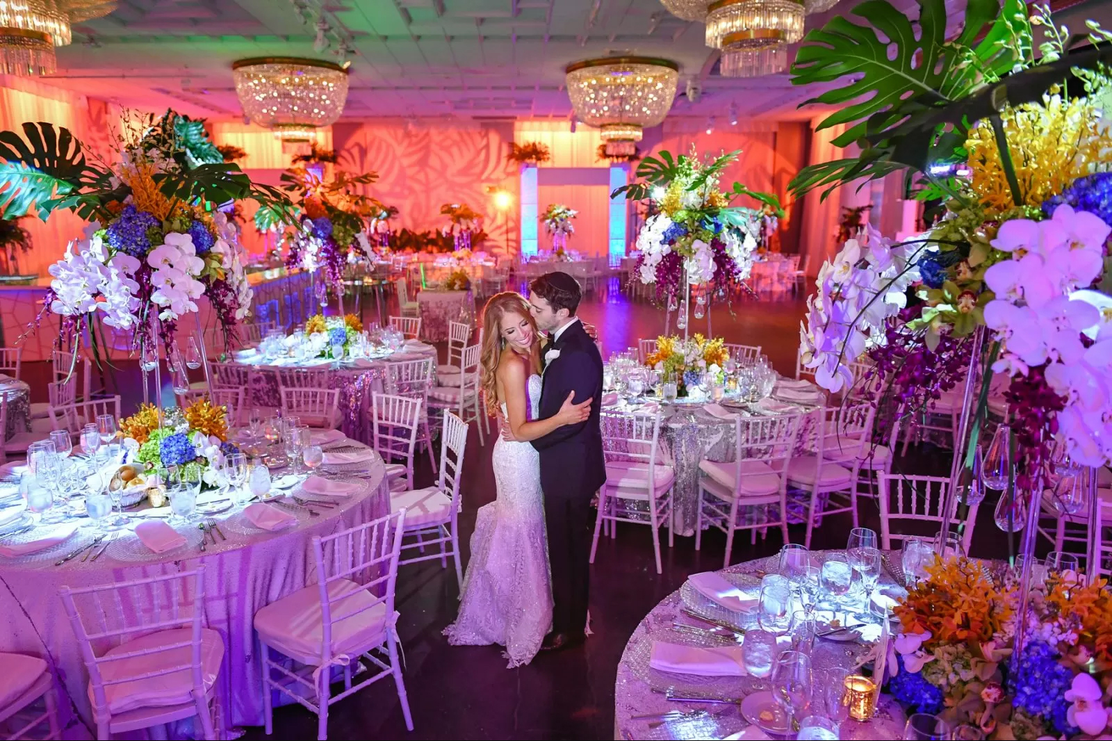 Tropical Luxury Jewish Wedding in Miami Beach by Domino Arts Photography thumbnail