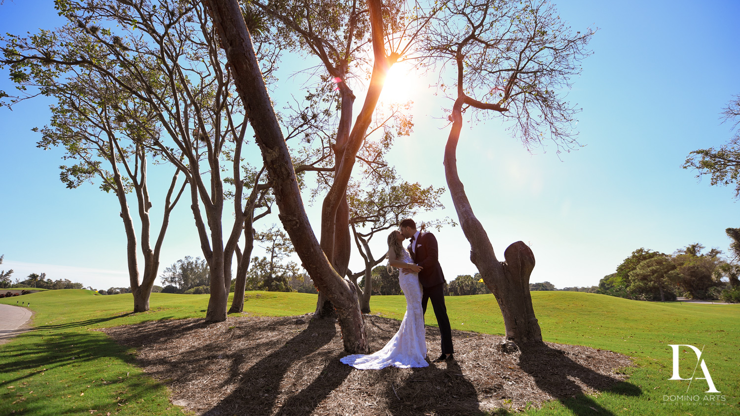 Sunset Wedding at Boca Rio Golf Club by Domino Arts Photography