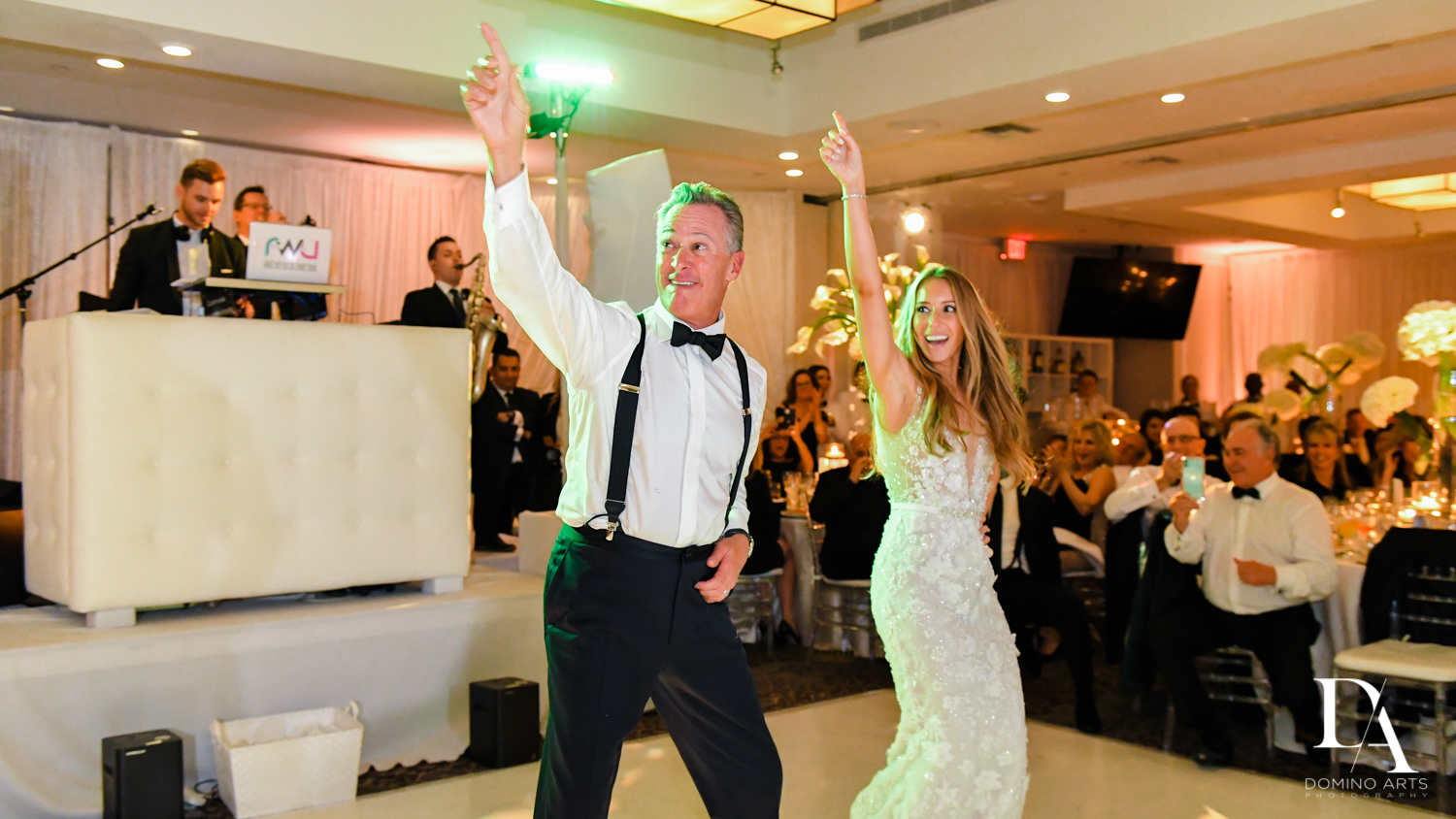 dad dance at Wedding at Boca Rio Golf Club by Domino Arts Photography