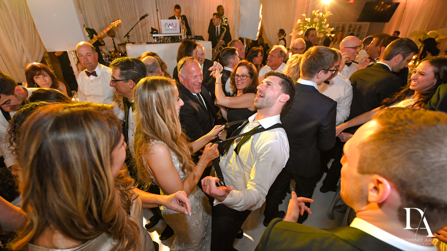 fun party photos at Wedding at Boca Rio Golf Club by Domino Arts Photography