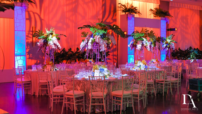 barton G decor at Tropical Luxury Wedding at Temple Emmanu-El in Miami Beach