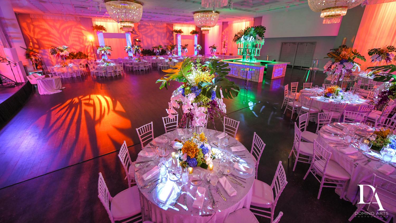 centerpiece ideas at Tropical Luxury Wedding at Temple Emmanu-El in Miami Beach