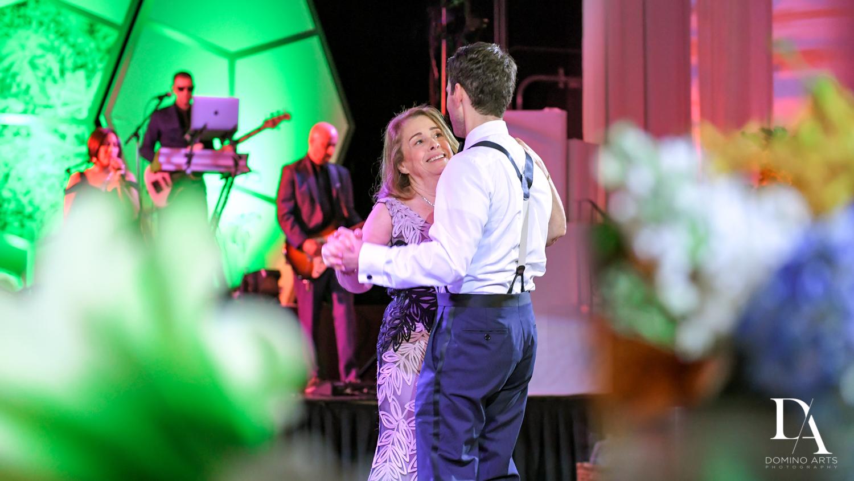 parent dance at Tropical Luxury Wedding at Temple Emmanu-El in Miami Beach
