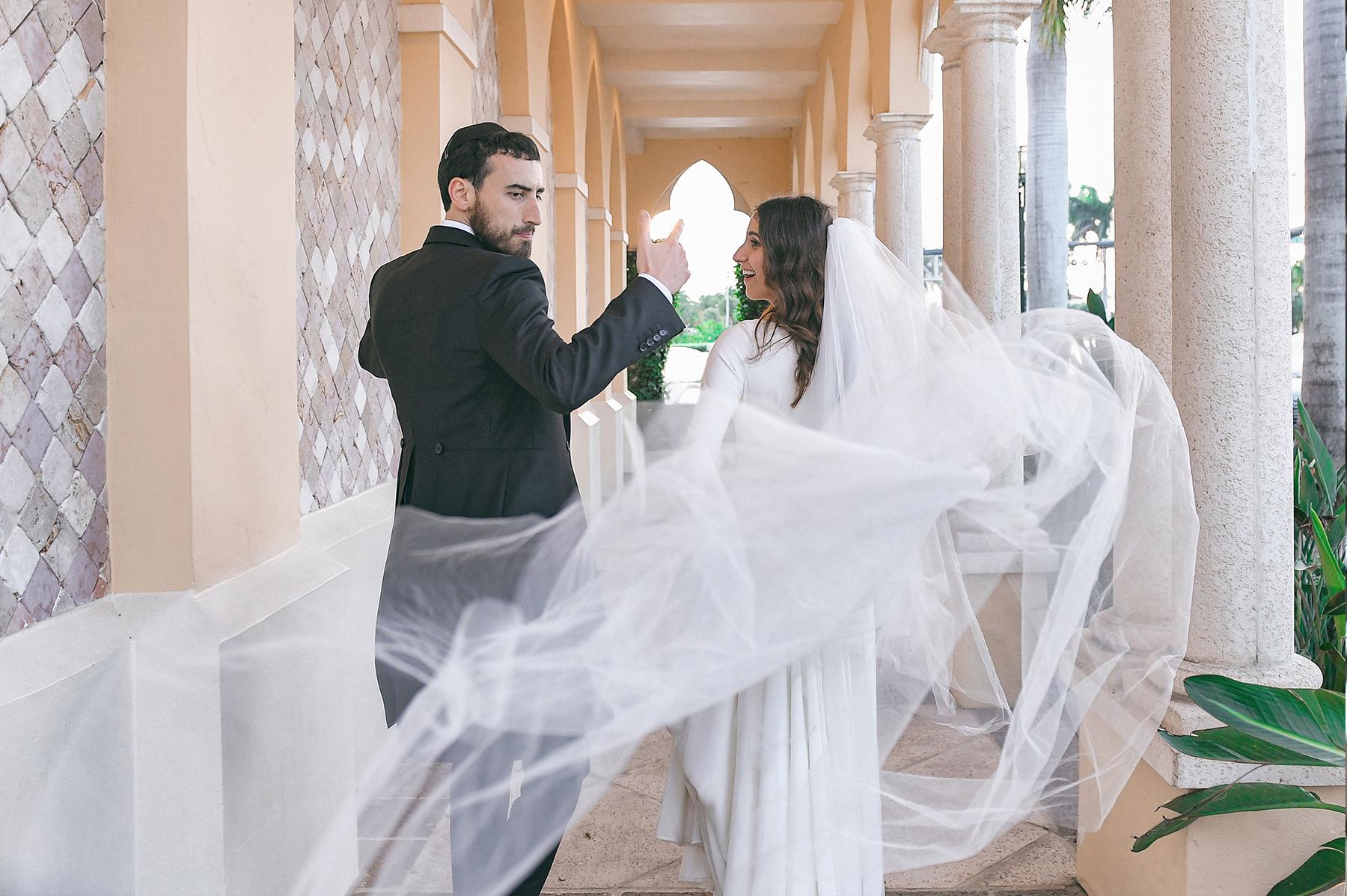 Hasidic Jewish Wedding at The Addison in Boca Raton