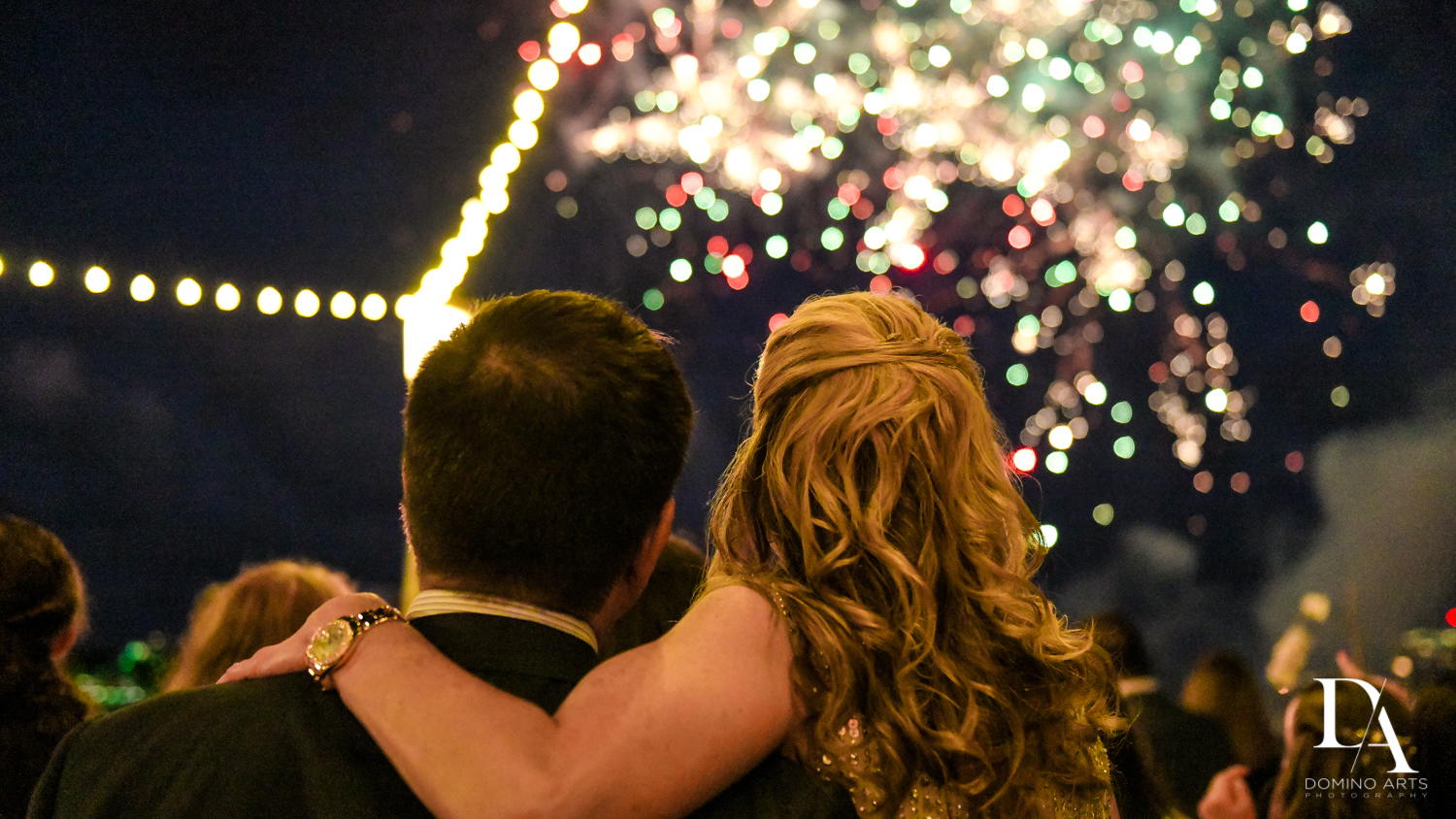 fireworks at Madeline in Paris theme Bat Mitzvah at Boca Raton Resort and Club by Domino Arts Photography
