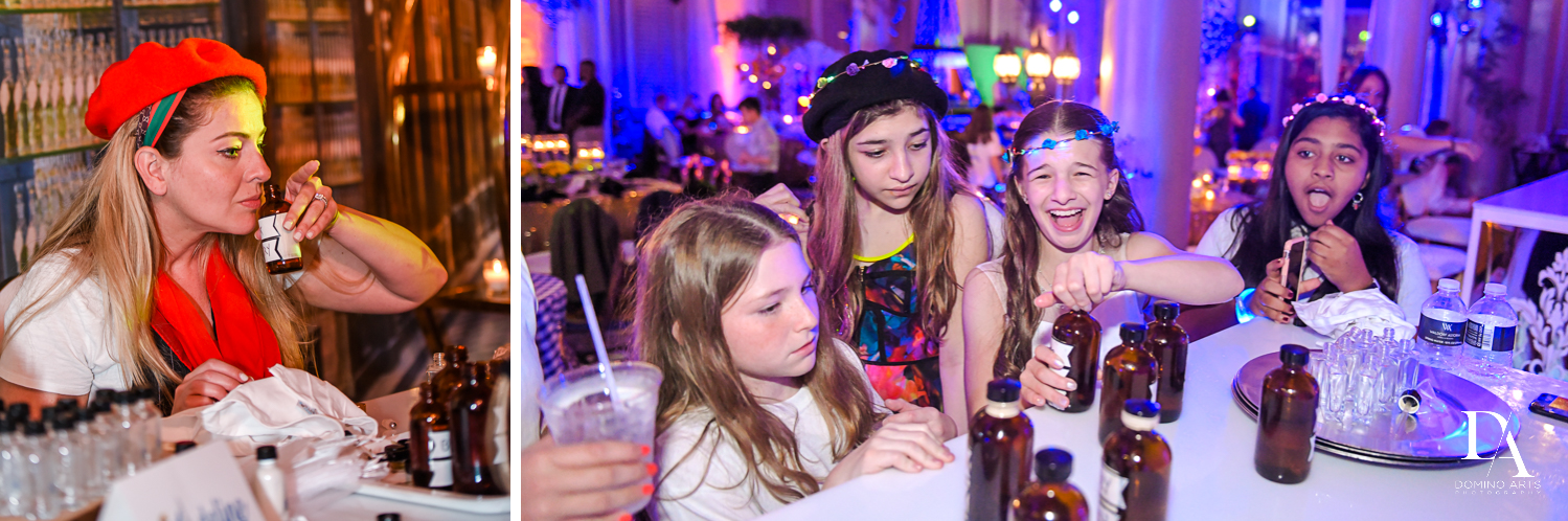 games at Madeline in Paris theme Bat Mitzvah at Boca Raton Resort and Club by Domino Arts Photography