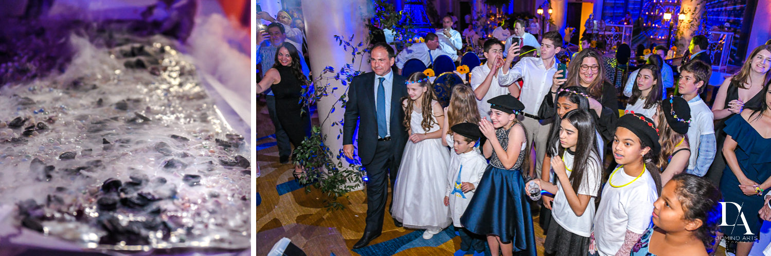 event photos for Madeline in Paris theme Bat Mitzvah at Boca Raton Resort and Club by Domino Arts Photography