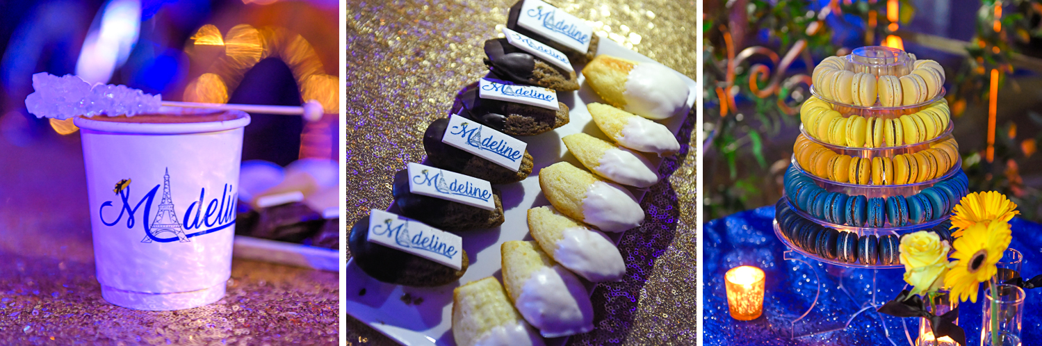 giveaways at Madeline in Paris theme Bat Mitzvah at Boca Raton Resort and Club by Domino Arts Photography