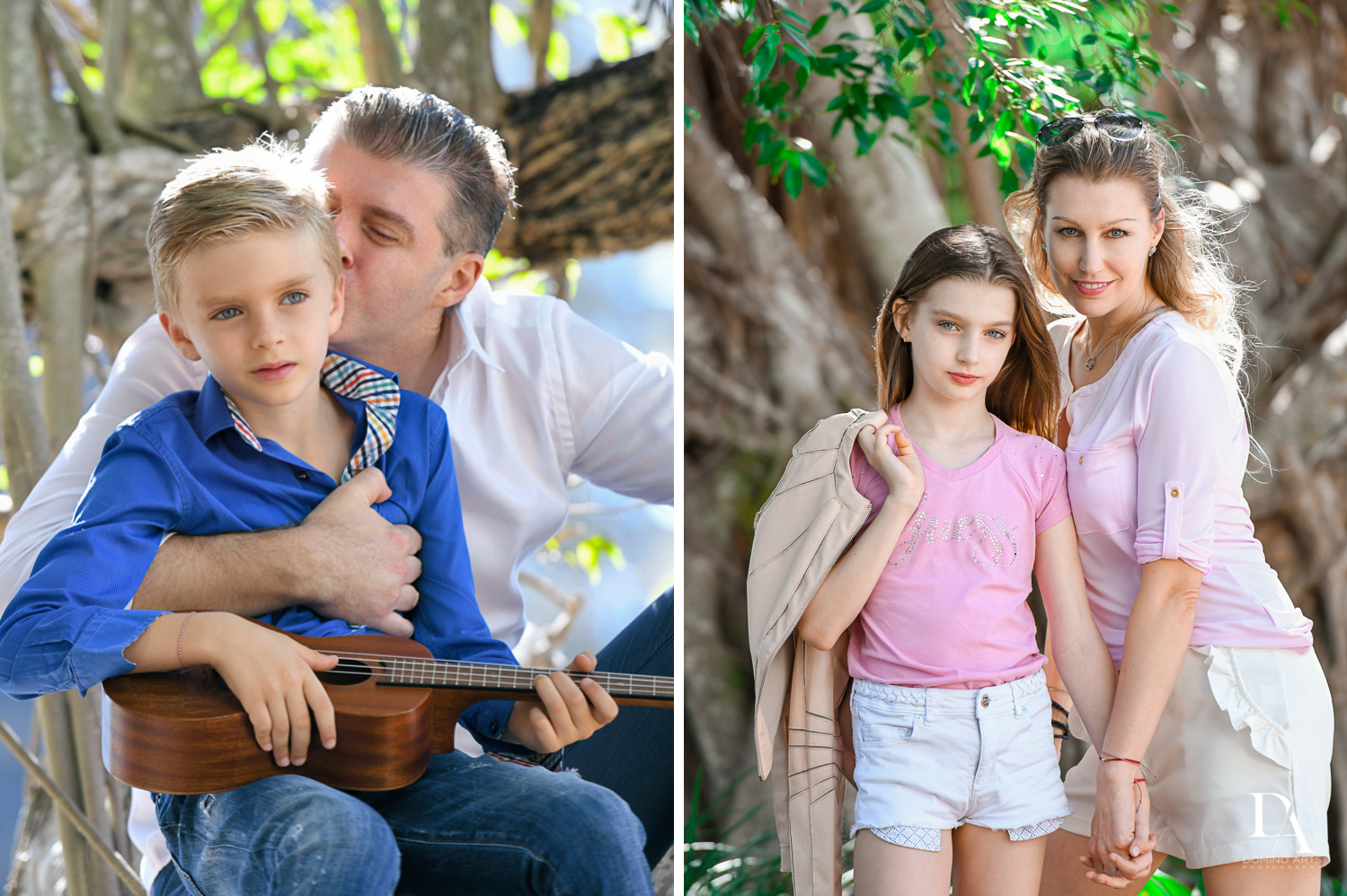 moments at Family Photo Session Riverwalk Fort Lauderdale by Domino Arts Photography
