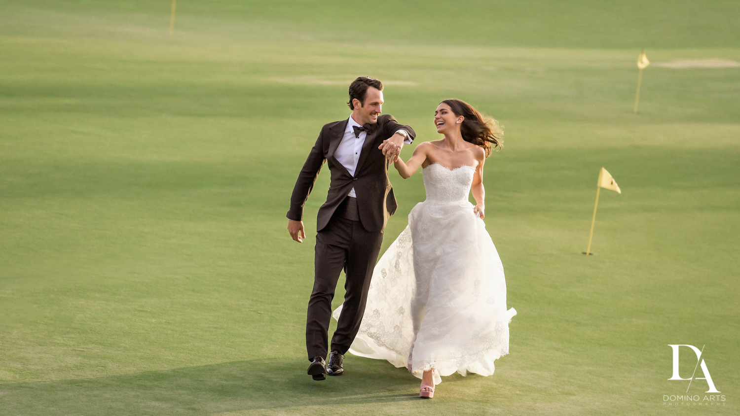 Stunning Golf Course Wedding at PGA National Palm Beach by Domino Arts Photography