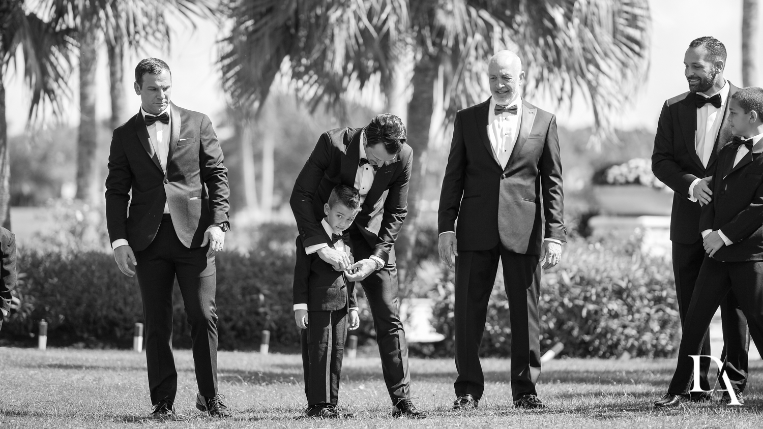 ring bearer at Stunning Golf Course Wedding at PGA National Palm Beach by Domino Arts Photography