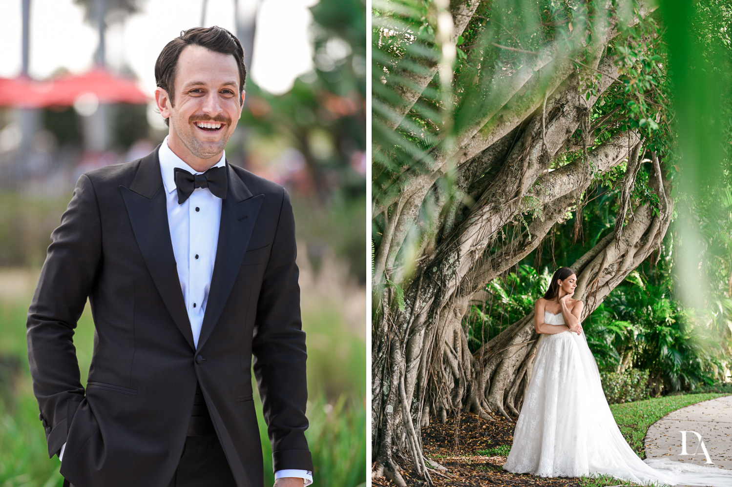 natural portraits at Stunning Golf Course Wedding at PGA National Palm Beach by Domino Arts Photography