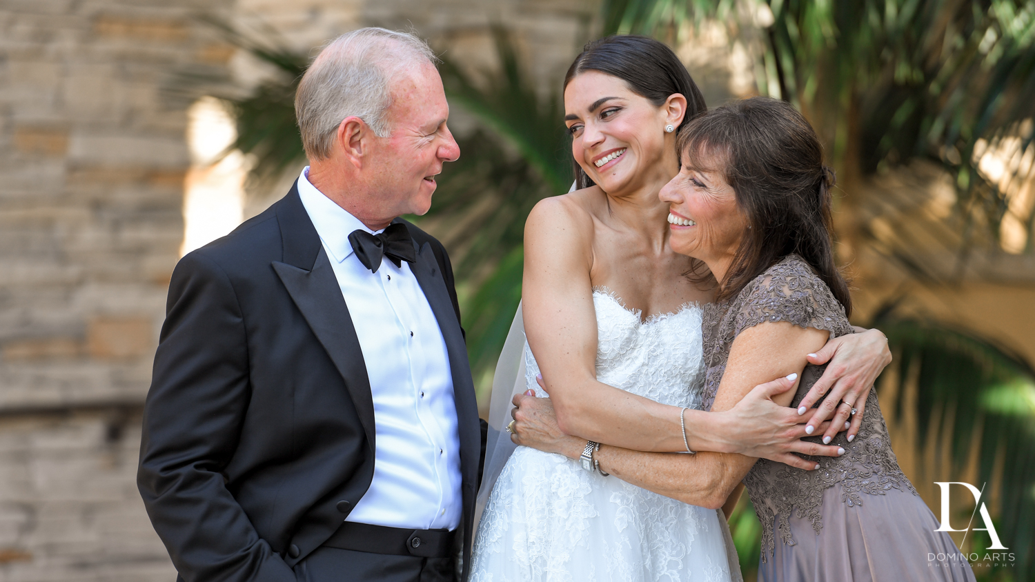 brides parents at Stunning Golf Course Wedding at PGA National Palm Beach by Domino Arts Photography