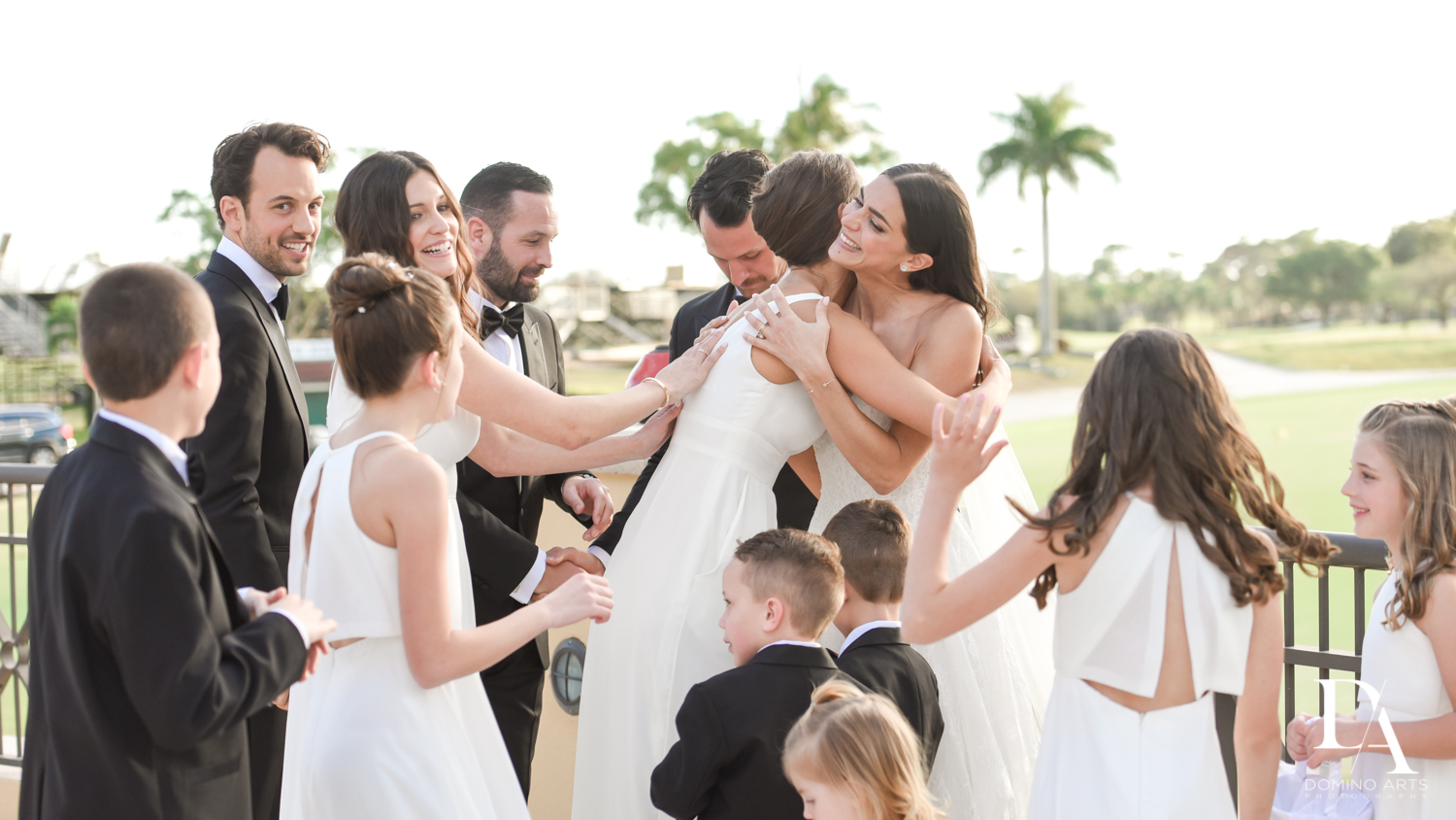 natural photos at Stunning Golf Course Wedding at PGA National Palm Beach by Domino Arts Photography