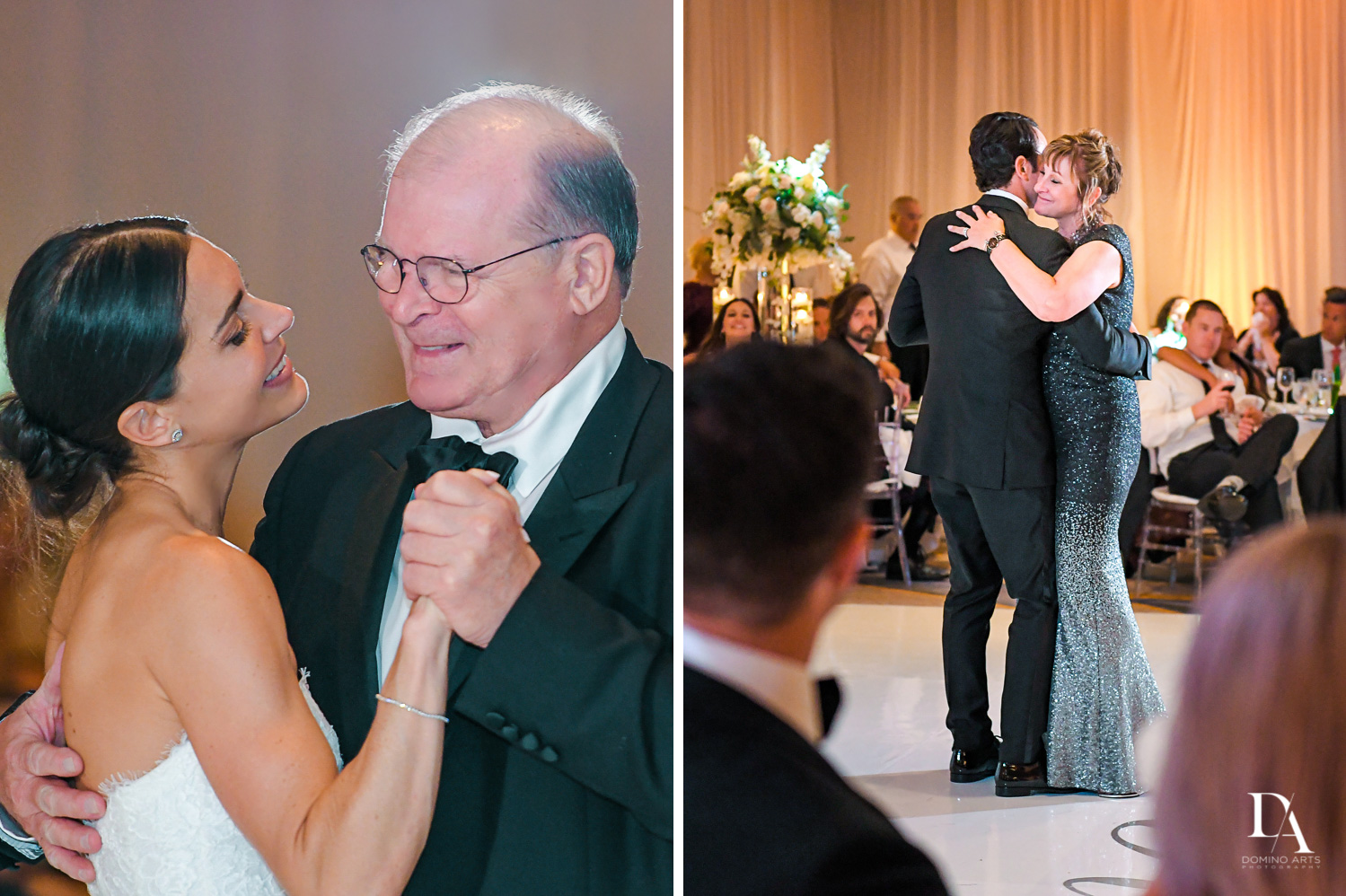 parent dance at Stunning Golf Course Wedding at PGA National Palm Beach by Domino Arts Photography