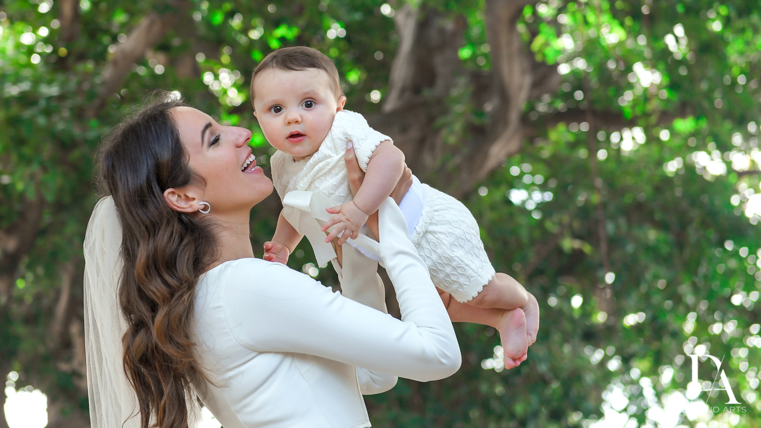baby photo at Hasidic Jewish Wedding at The Addison in Boca Raton by Domino Arts Photography