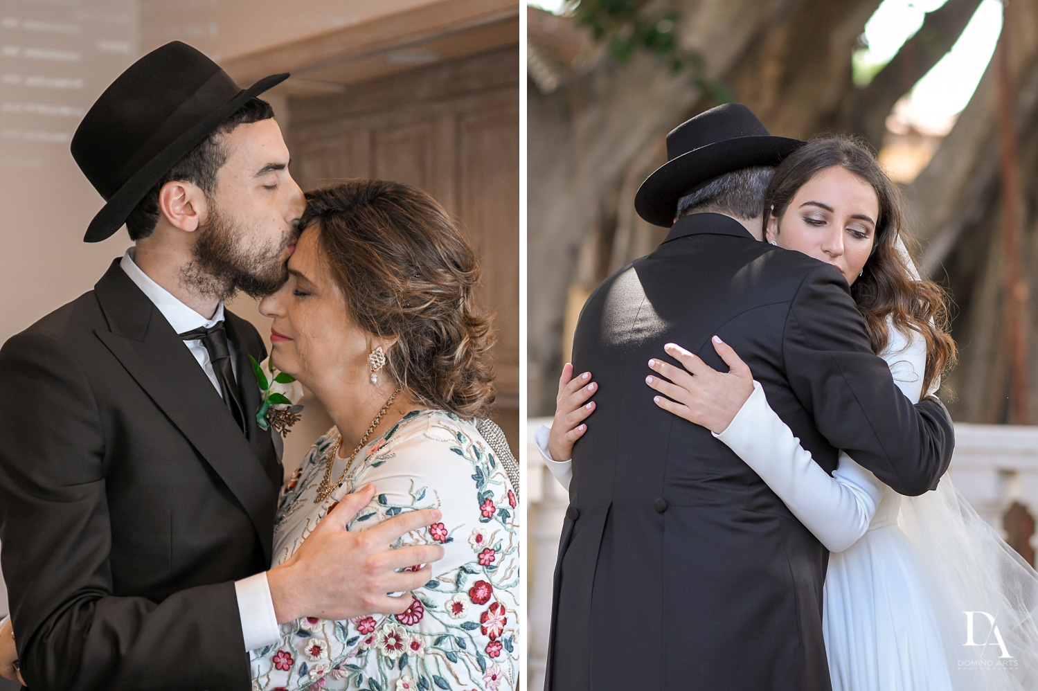 parent photos at Hasidic Jewish Wedding at The Addison in Boca Raton by Domino Arts Photography