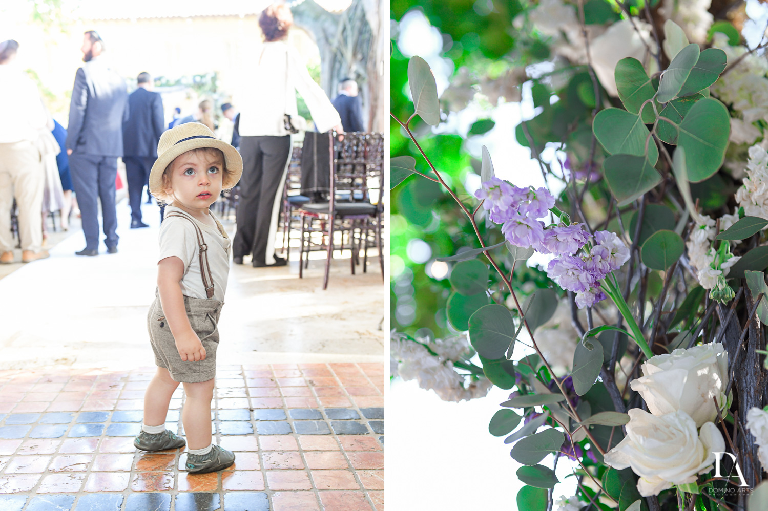 natural details at Hasidic Jewish Wedding at The Addison in Boca Raton by Domino Arts Photography