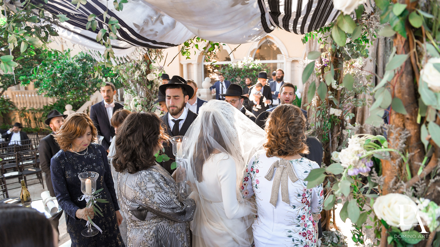 traditions at Hasidic Jewish Wedding at The Addison in Boca Raton by Domino Arts Photography