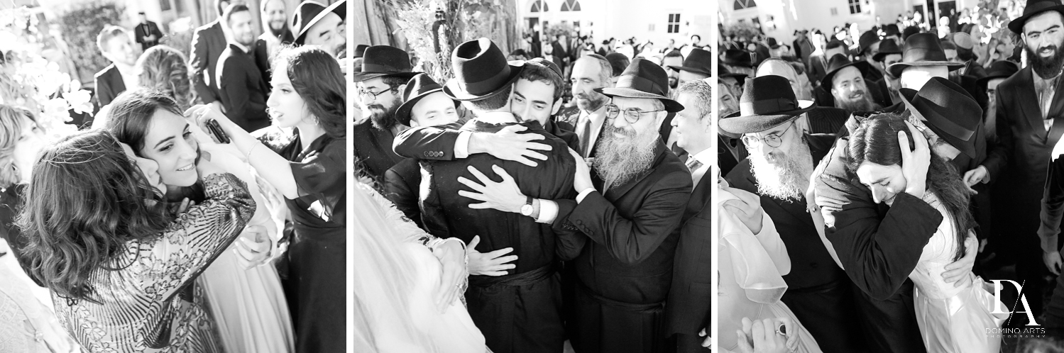 celebration at Hasidic Jewish Wedding at The Addison in Boca Raton by Domino Arts Photography