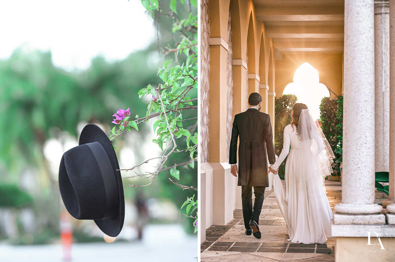 best portraits at Hasidic Jewish Wedding at The Addison in Boca Raton by Domino Arts Photography