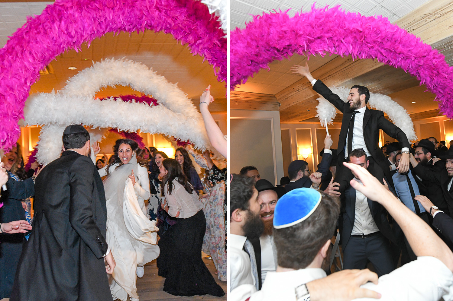 orthodox party at Hasidic Jewish Wedding at The Addison in Boca Raton by Domino Arts Photography