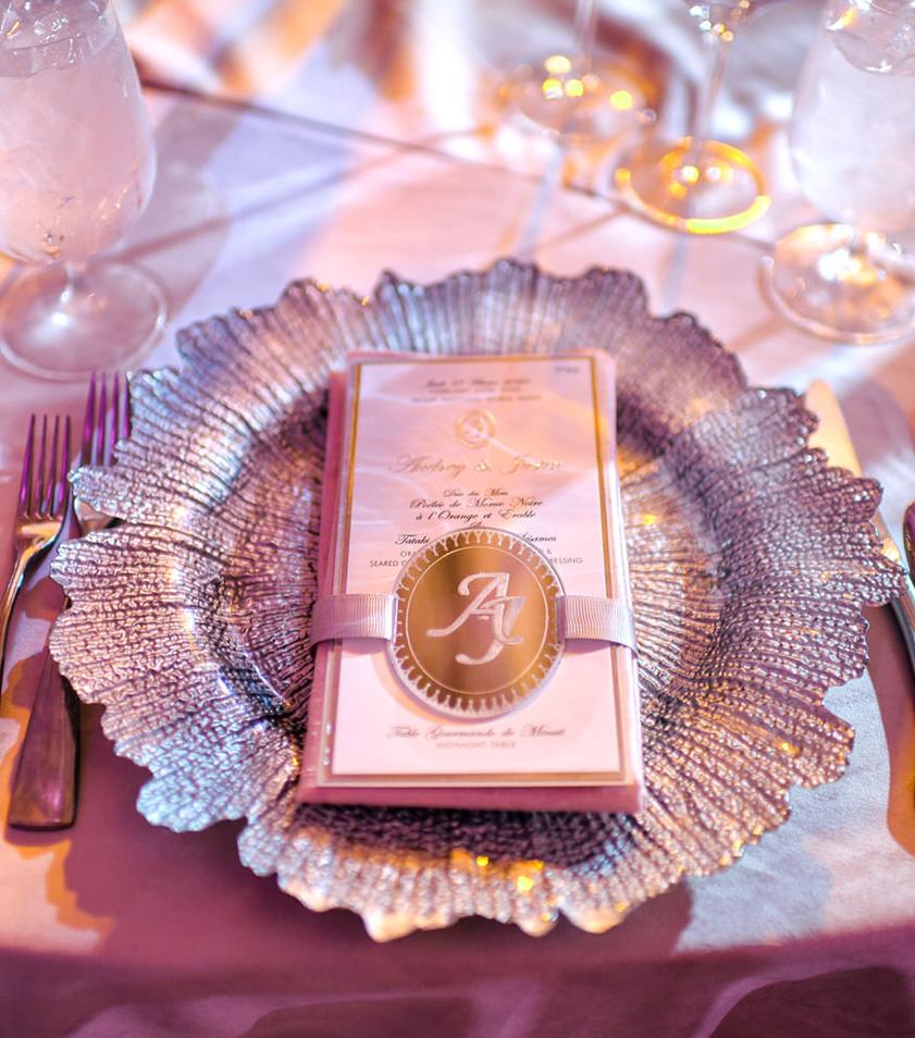 Luxury Wedding table setting