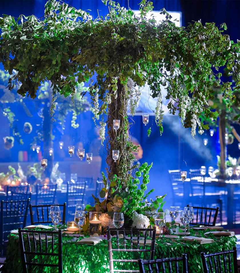luxury mitzvah tree decor