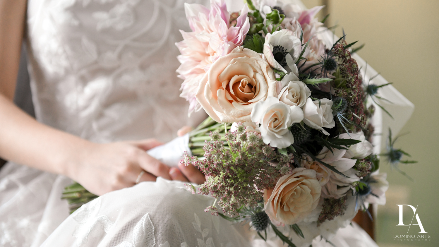 Petal Productions bride bouquet by Domino Arts Photography