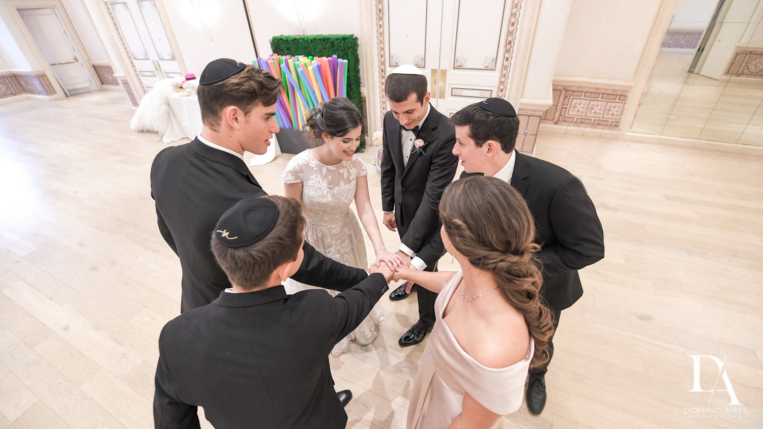 family fun at Luxury Summer Wedding at The Colony Hotel Palm Beach by Domino Arts Photography